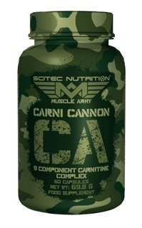 SCITEC Muscle Army Carni Cannon 60 kaps.