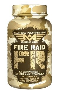 SCITEC Muscle Army Fire Raid 90 kaps.