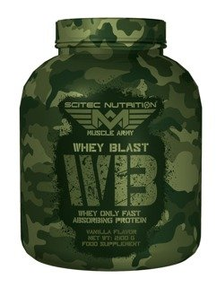 SCITEC Muscle Army Whey Blast 2100g