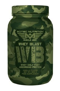 SCITEC Muscle Army Whey Blast 900g