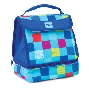 SPOKEY LUNCH BOX BLUE - Torba termiczna: 22x17x25cm