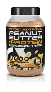 Scitec Nutrition - PEANUT BUTTER + PROTEIN 500g