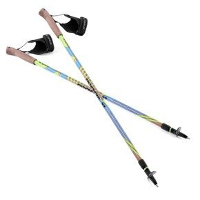 Spokey WOODY - Kije Nordic Walking; 105 - 140 cm