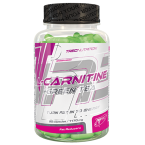 TREC L-carnitine Green Tea - 90 kaps.