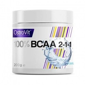 100% BCAA 2-1-1 200 g OstroVit OUTLET