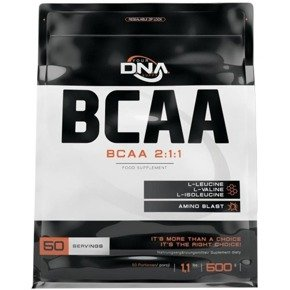 Aminokwasy BCAA 2:1:1 suplement 500g. DNA SUPPS
