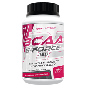 Bcaa G-Force 1150 - 180 kaps TREC