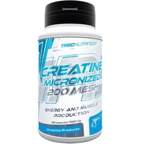 Creatine Micronized 200 Mesh 60 kaps TREC OUTLET