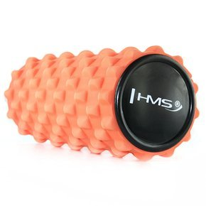 FS101 ORANGE 33CM WAŁEK FITNESS/ROLLER HMS