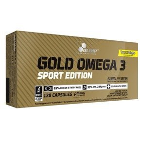 Gold Omega 3 Sport Edition - 120 kaps OLIMP
