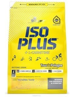 Iso Plus 1505g folia zip (1400+105g GRATIS) OLIMP OUTLET