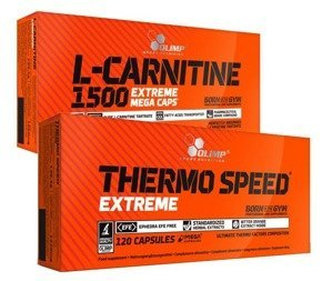 OLIMP Thermo Speed 120 kaps. L-Carnitine 1500 120