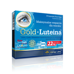 Olimp Gold Luteina 30 kaps - OUTLET