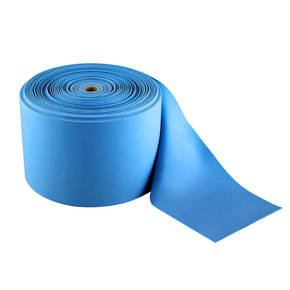 RB01 L. BLUE 0.8 x 150 MM 50M GUMA W ROLCE