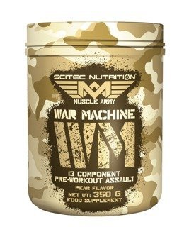 SCITEC Army War Machine 350g