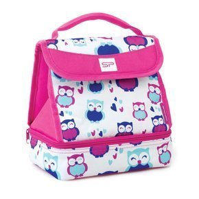 SPOKEY LUNCH BOX PINK - Torba termiczna; 22x17x25cm