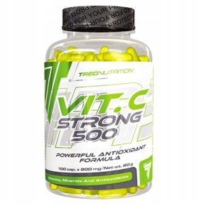TREC STRONG - VIT. C STRONG 500 100 Caps.