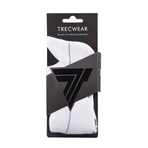 TREC WEAR MINI 001 SOCKS WHITE