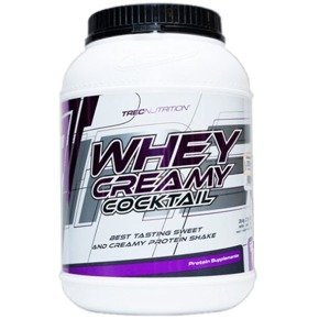 TREC Whey Creamy Coctail 2275g WPC Wanilia OUTLET