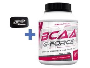 Trec Bcaa G-Force 600g + Trec Pill-Box + Próbka
