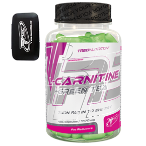 Trec L-Carnitine Green Tea 180k + Trec Pill- Box + próbka