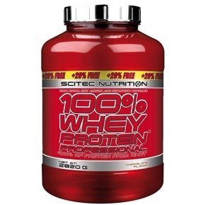 WHEY PROTEIN PROFESSIONAL 2350g +47Og SCITEC
