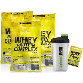 Whey Protein Complex 3 x 700g OLIMP + GRATISY!