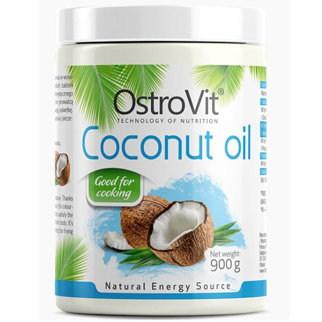 COCONUT OIL rafinowany 900g OstroVit OUTLET