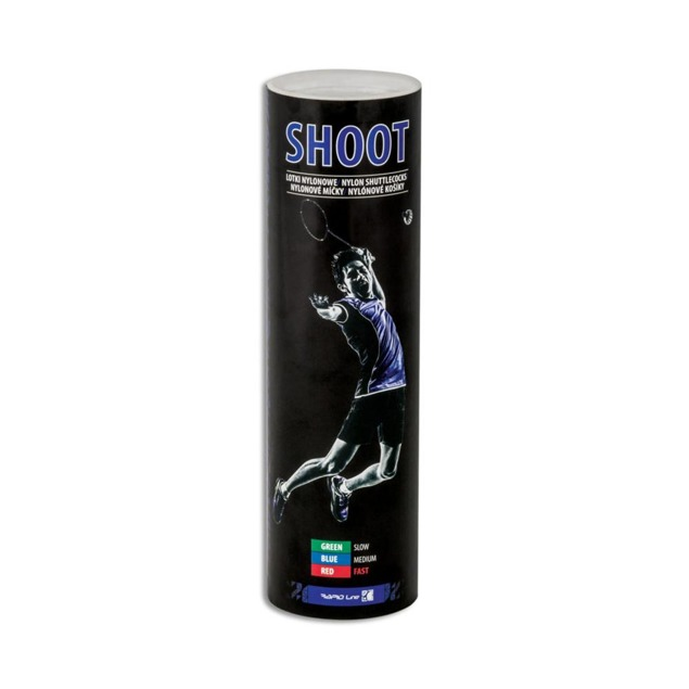 Lotki do badmintona 6 szt. Spokey SHOOT (medium)